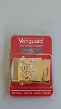 Usn Us Navy Seal Seabee Sailor Aviation Mcpo Master Chief's Gold Belt Buckle Nip - $28.66