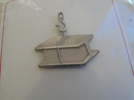 Usn Us Navy Ship Uss Seabee Steelworker Full Size Ballcap Badge - $9.89