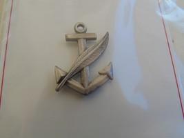 Usn Us Navy Uss Ship Career Counselor Aide Full Size Ballcap Badge - $9.89