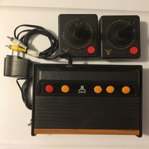 Atari Flashback 4 Classic Game Console with 2 Wireless Joysticks Power Cable - $15.00