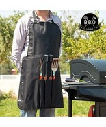 BBQ Classics Barbecue Utensils And Apron, Outdo... - $23.72