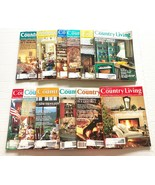 1995 Country Living Magazine Lot of 12 Complete Year Including Christmas - $19.79