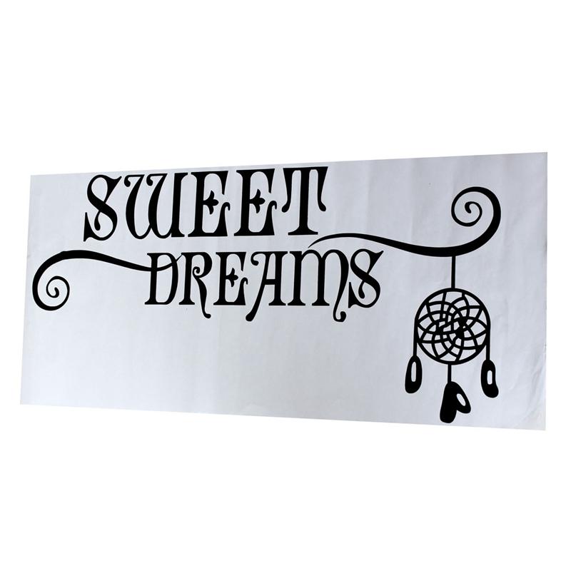 Removable Sweet Dreams Dream Catcher Dreamcatcher Wall Sticker Vinyl Decal  Ho.