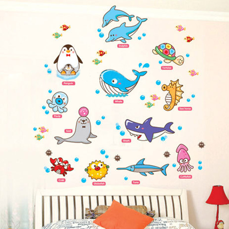 baby room kindergarten removable wall sticker wall poster removable custom name elephant wall decal nursery baby