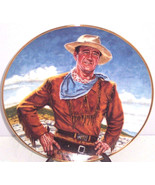 John Wayne Plate The Duke Collector Franklin Mi... - $49.95