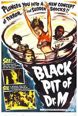 Primary image for Black Pit of Dr. M - 1959 - Movie Poster
