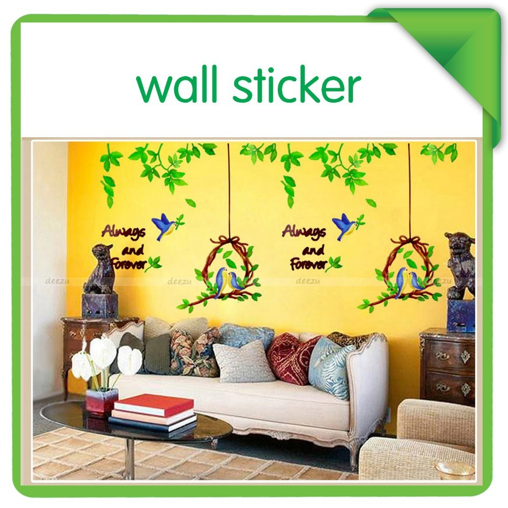 now tree wall sticker large animals birdcage for kids large size animal wall stickers for kids room decorations