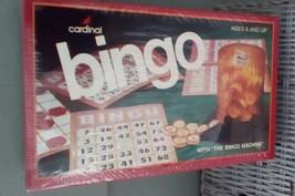 BINGO. 1981 Cardinal BINGO Game.  MIB. Vintage Game  Y-242 - $18.00