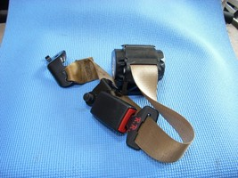 2013 BMW X6 RIGHT REAR SEAT BELT