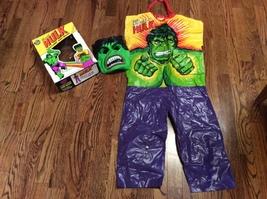 """1977 Ben Cooper (Marvel) """"THE INCREDIBLE HULK"""" (Halloween) Costume & Mas... - $39.99"""