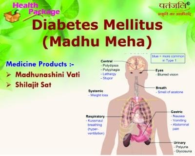 Patanjali Divya Herbal Package Advised for DIABETES MELLITUS (MADHUMEHA)