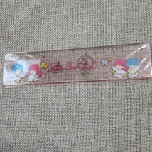 Sanrio Vintage Kikirara Ruler Sanrio Retro Measure Little Twin Stars 1976. - $32.18