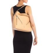 Michael Kors EVIE Large Pebble Leather Hobo Shoulder Bag Purse BUTTERNUT... - $148.49