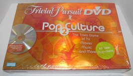 Trivial Pursuit Pop Culture 2 DVD Edition Board Game Parker Brothers Sealed NEW - $14.03