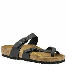 Birkenstock Women'S Mayari Sandal,Black Birko-Flor,37 Eu/6-6.5 M Us - $122.47