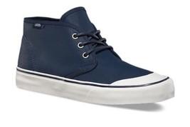 VANS Prairie Chukka (PVW) Waxed Navy Boots Skate Shoes Men's 7 Women's 8.5 - $49.95