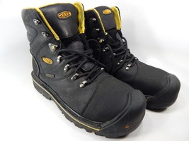 Keen Milwaukee Size 9.5 2E WIDE EU 42.5 Men's WP Steel Toe Work Boots 1009173EE