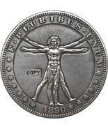 Hobo Nickel 1890-CC USA Morgan Dollar COIN COPY Type 108 - £6.43 GBP