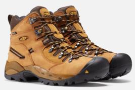 "Keen Pittsburgh 6"" Size 13 2E WIDE EU 47 Men's Steel Toe Work Utility Boots"