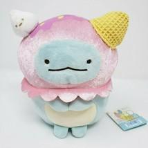 New Tag Sumikko Gurashi SAN-X Tokage Dinosaur Ice Cream Stuffed Animal Plush Toy - $32.73