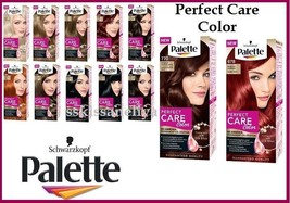 Schwarzkopf Palette Perfect Care Color Permanent NO-AMMONIA with  Silky Elixir - $10.99