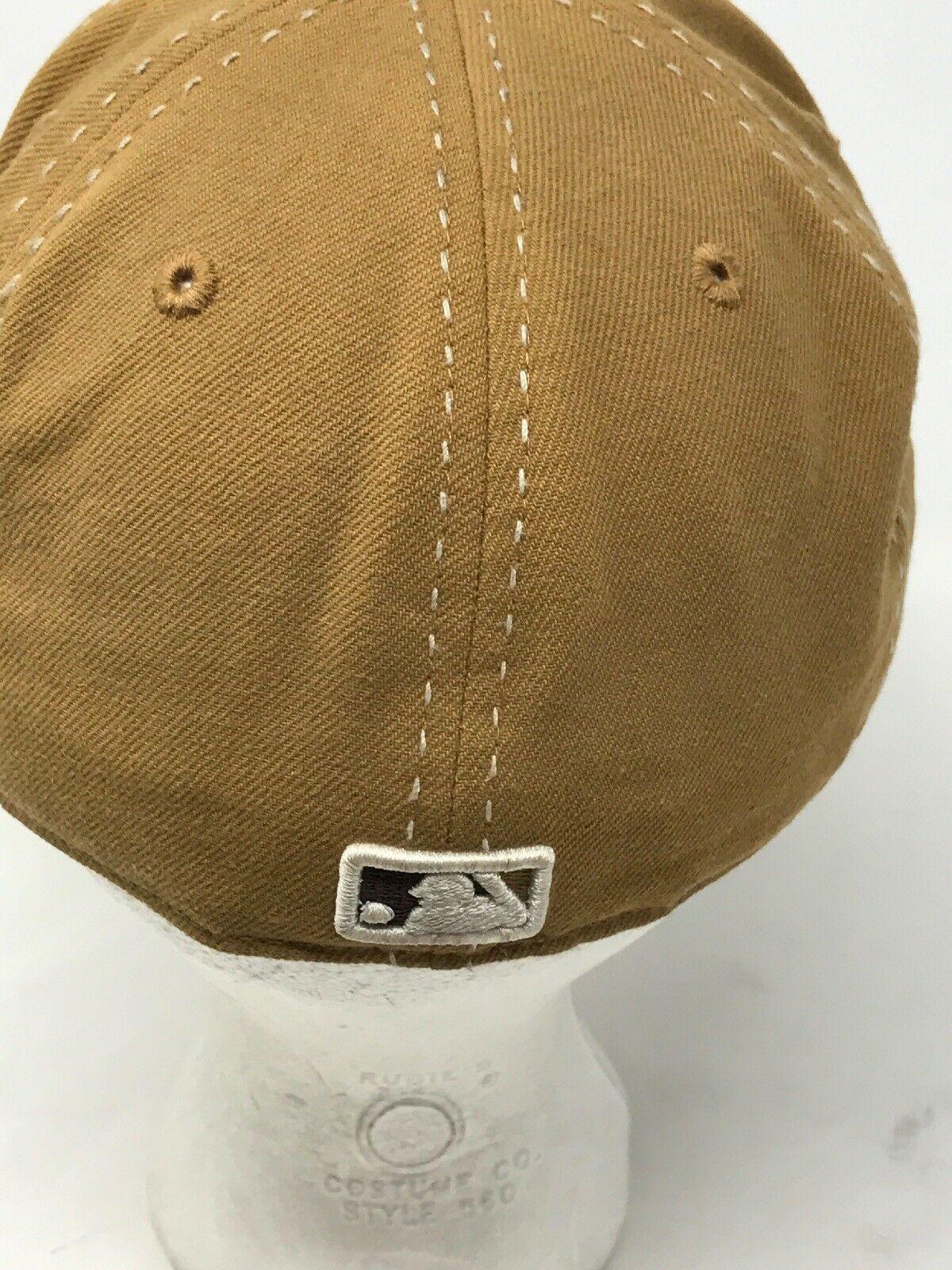 Tan Los Angeles Dodgers Desert Brown 7sz Fitted Baseball Hat New Era 59Fifty Cap