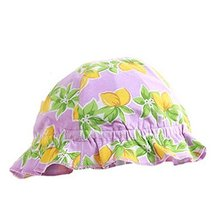 Printing Flower Outdoor Summer Sun-resistant Infant Hat Baby Fisherman Cap image 1