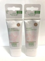 Lot of 2 Almay Pureblends Hypoallergenic Foundation #340 Tan - $14.84