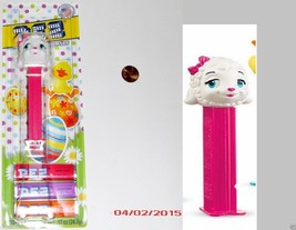 PEZ Easter/Spring Candy Dispenser - Sheep with Pink Bow - $6.92