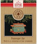 Hallmark Keepsake Ornament – Claus & Co. R.R. Passenger Car – Third in S... - $4.95