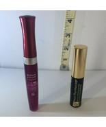 Lot of 2 Bourjois Paris Effet 3D,  #26 Lip Gloss +Estee Lauder Black Mas... - $6.62
