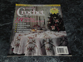 McCall's Crochet Patterns Magazine December 1995 Vol 9 No 6 Winter Wonders - $2.99
