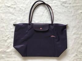 Longchamp Club Le Pliage Bag Purple Large L1899619645 - $87.99
