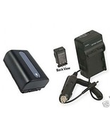 Battery+ Charger for Sony HDRXR550 HDR-XR550E HDRXR550E - $28.64