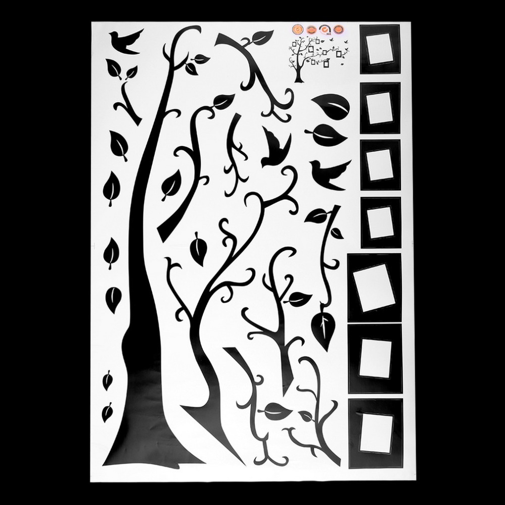 photo tree wall stickers removable decal home decor diy