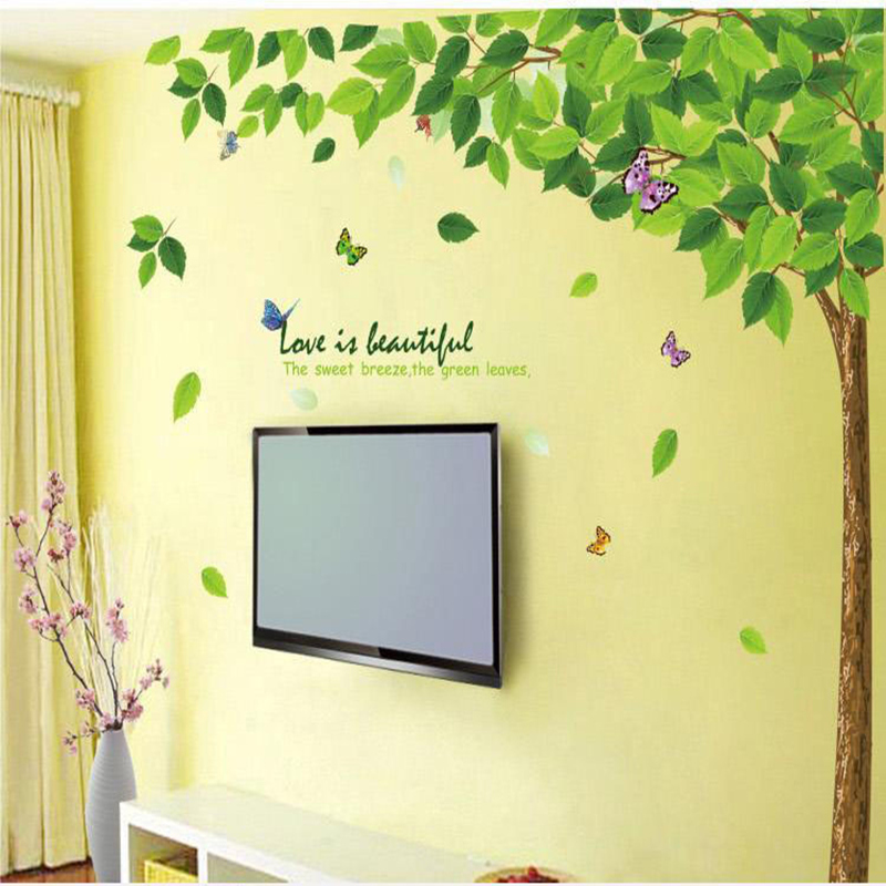 Tree wall sticker stickers for kids rooms baby nursery for Wall decor for kids room