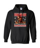 Tupac Shakur Ain't Nothin But A Christmas Party G185 Black Hoodie 8 oz - $32.50+