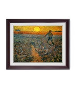 DECORARTS - The Sower, Vincent Van Gogh Art Reproduction. Giclee Print w... - $139.78