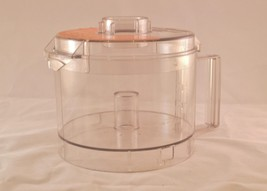 Cuisinart Food Processor Replacement Bowl And Lid TP-631ACTX Clear - $43.53
