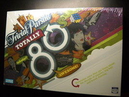 Trivial Pursuit 2005 Totally 80's Board Game Parker Brothers Hasbro Seal... - $10.99