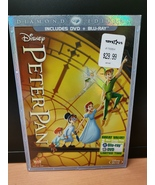 Walt Disney Diamond Edition -Peter Pan DVD + Blu Ray, Brand New - $59.95