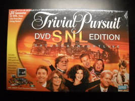 Trivial Pursuit 2004 DVD SNL Edition Parker Brothers Hasbro Sealed Box - $8.99