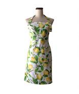 Bodecin Retro Yellow Lemons Vintage Women Kitchen Cooking - $22.95