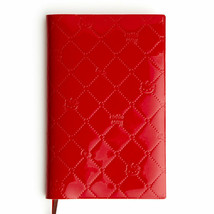 Hello Kitty Schedule Book Embossed Cover Diary Red 2020 SANRIO Cute - $35.53