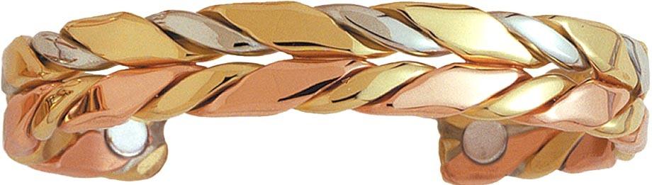 Sergio Lub 747 HORSEMAN Magnetic Copper Bracelet Shiny Finish - Size LG