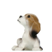 Hagen Renaker Miniature Dog Beagle Puppy Ceramic Figurine image 2