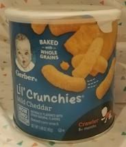 Gerber Lil' Crunchies Mild Cheddar Snack - $9.90