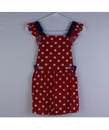 NWT Matilda Jane Most Magical Day Romper Red Polka Dot Size 8 27030R Rayon - $29.69