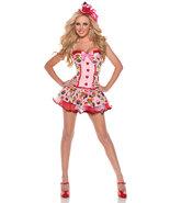 Mystery House Cupcake Girl Costume, Print, Large - $39.99