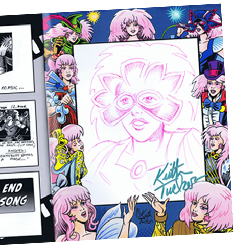 """Keith Tucker's Jem & the Holograms storyboards"""